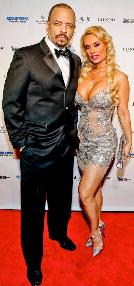 LAS VEGAS, NV - December 31 : Ice-T and Coco ring in New Years Eve at LAX Nightclub at Luxor Resort in Las Vegas, Nevada on December 31, 2012. Kabik/Starlite/MediaPunch Inc ***NO GERMANY***NO AUSTRIA***