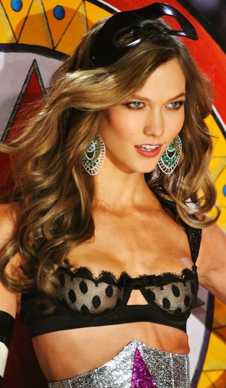 KARLIE KLOSS at 2012 Victoria's Secret Fashion Show in New York