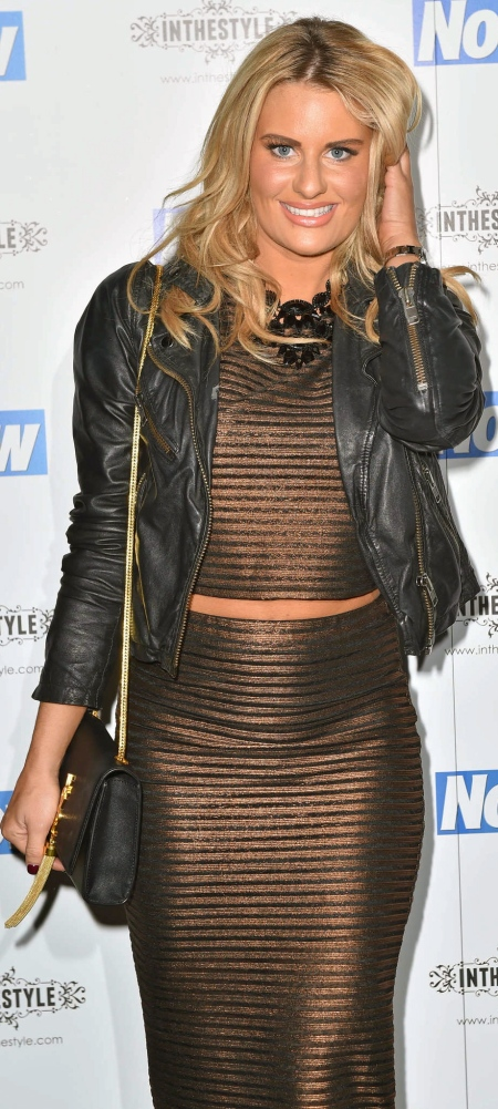 Danielle-Armstrong--Now-Christmas-Party-2014--05
