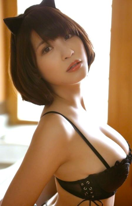 Kishi Asuka ____ Cat Cosplay Images 02