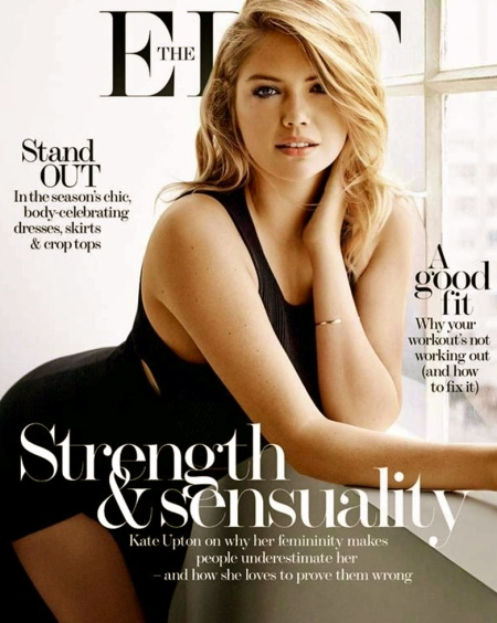 KATE UPTON in The Edit Magazine, March 2015 Issue