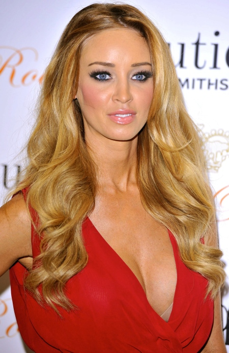Lauren Pope at Goldsmith's Glam Rock Evening in London