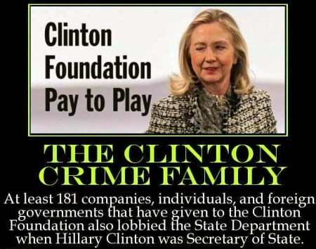 Image result for clinton foundation piggy bank