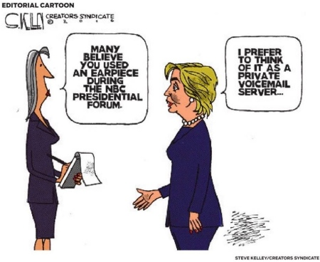 hillaryclintoncartoonstevekelley