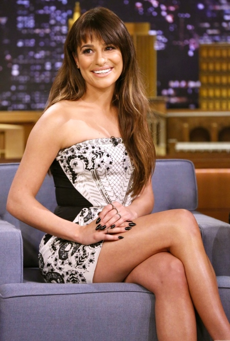 lea-michele-new-sizzles-look-on-the-tonight-show-with-jimmy-fallon-833993649