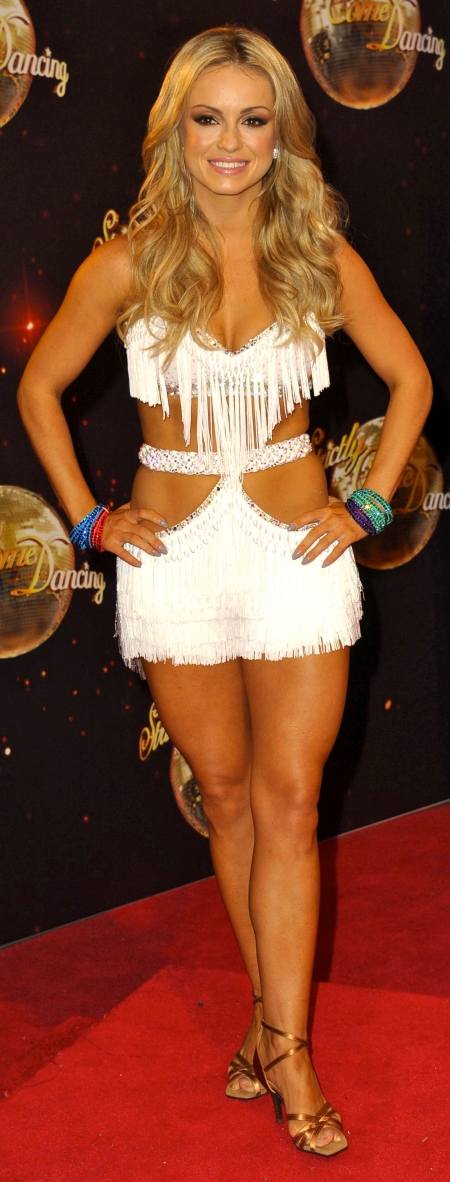 'Strictly Come Dancing' launch at Elstree Studios - Arrivals Featuring: Ola Jordan Where: London, United Kingdom When: 02 Sep 2014 Credit: WENN.com