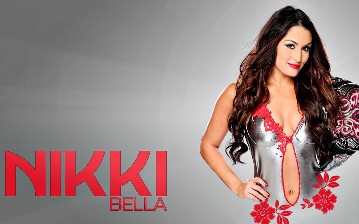 Nikki bella wardrobe malfunction as her top falls down - Wwe divas wallpapers ...