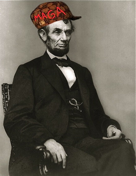 Chelsea Clinton opines about Lincoln's hat   22MOON.COM Abraham Lincoln With Hat