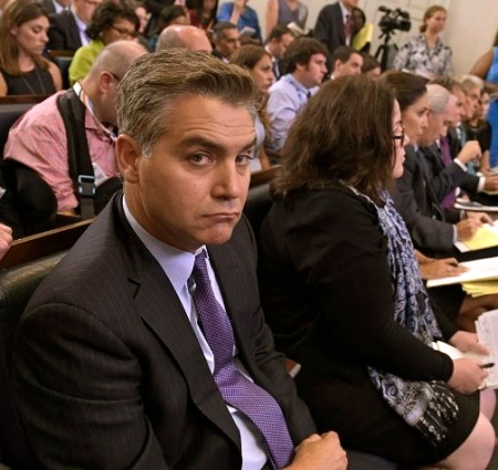 Jim Acosta revealed as idiot at WH press conference ...