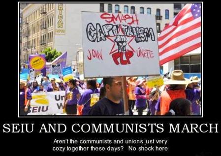 Come forum seiu marches with communists idea