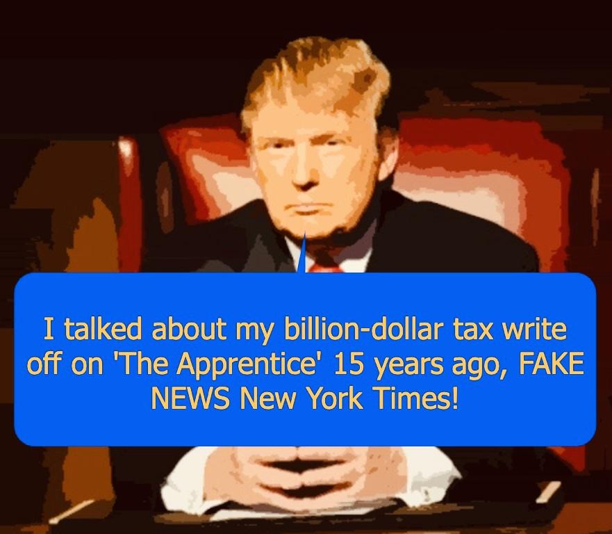 Trump Revealed His Billion-Dollar Tax Write Off On 'The